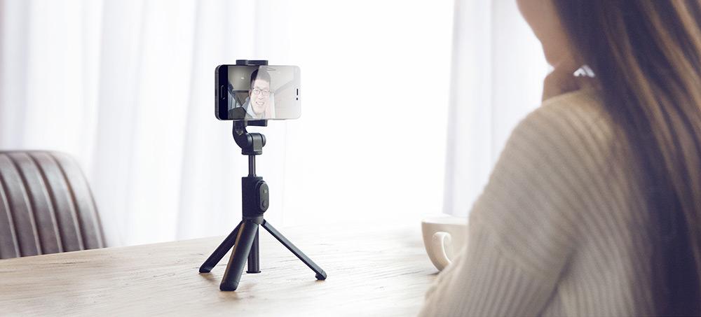 mi selfie stick bluetooth remote shutter tripod