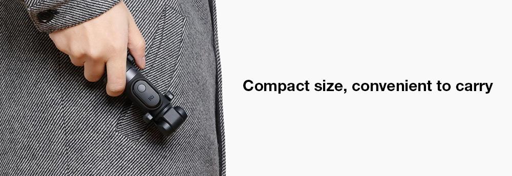 Mi selfie stick compact size convenient to carry