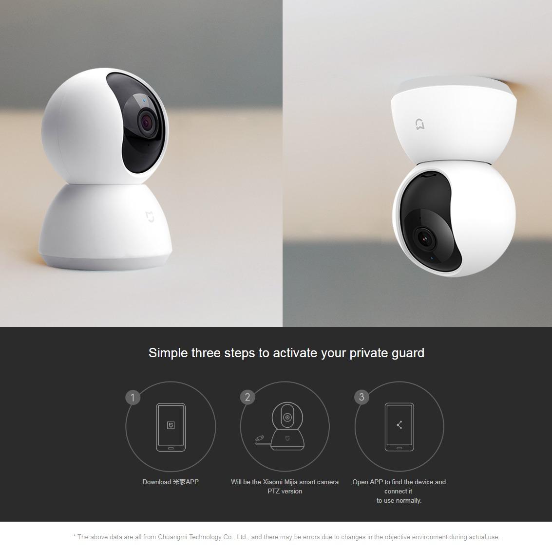 Xiaomi Mijia 360 Smart Camera PTZ 1080p (Updated Version)
