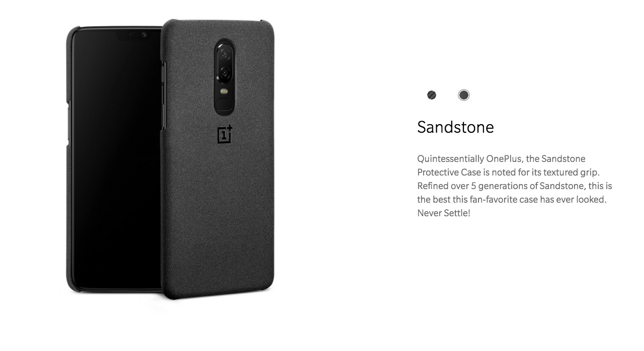 buy popular d3a14 69f86 OnePlus 6 Official Protective Case Sandstone