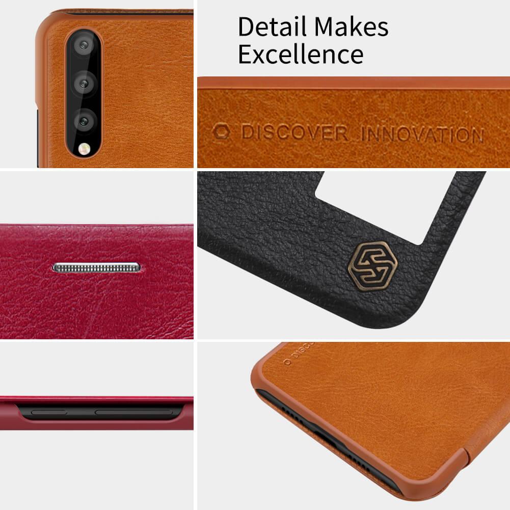 Huawei P20 Pro Nillkin Qin Leather Flip Case