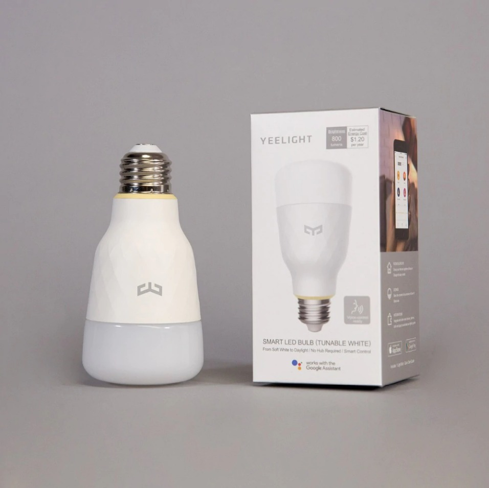Yeelight E27 WHITE Smart LED Bulb v2