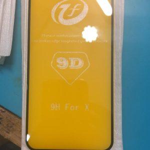 iPhone X Full Screen Full Glue Tempered Glass 9D