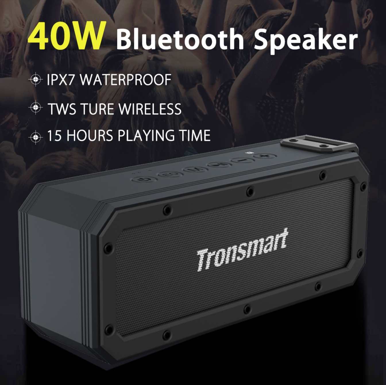 Tronsmart Element Force+ SoundPulse™ Portable Bluetooth Speaker