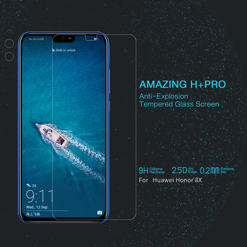 Huawei Honor 8X H+ Pro Tempered Glass Screen Protector