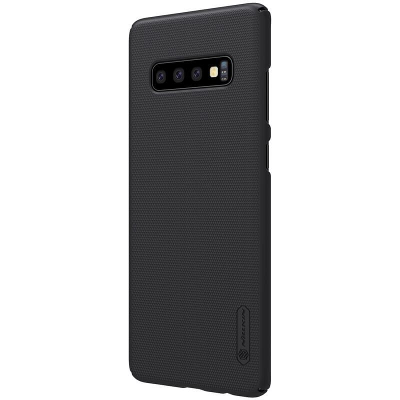... Samsung Galaxy S10 Plus Nillkin Super Frosted Shield Black pakistan