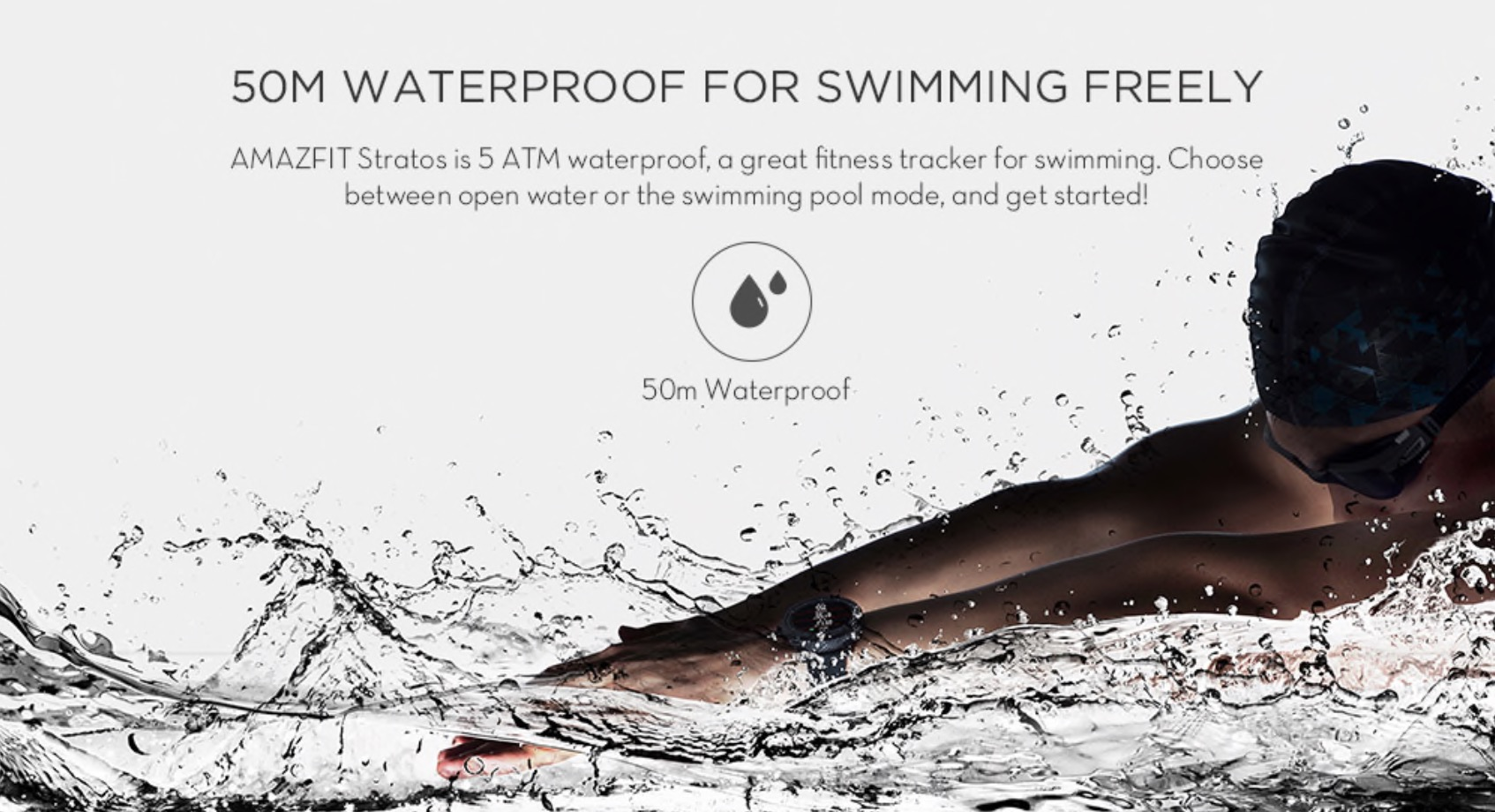 waterproof Pace 2 smart watch