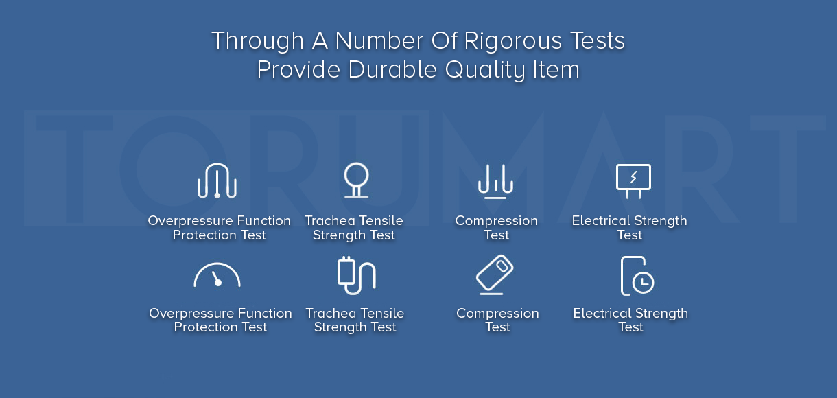 through a number of rigorous tests