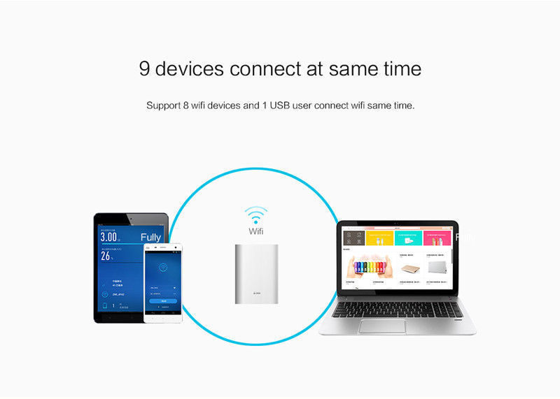 9 devices connected at the same time