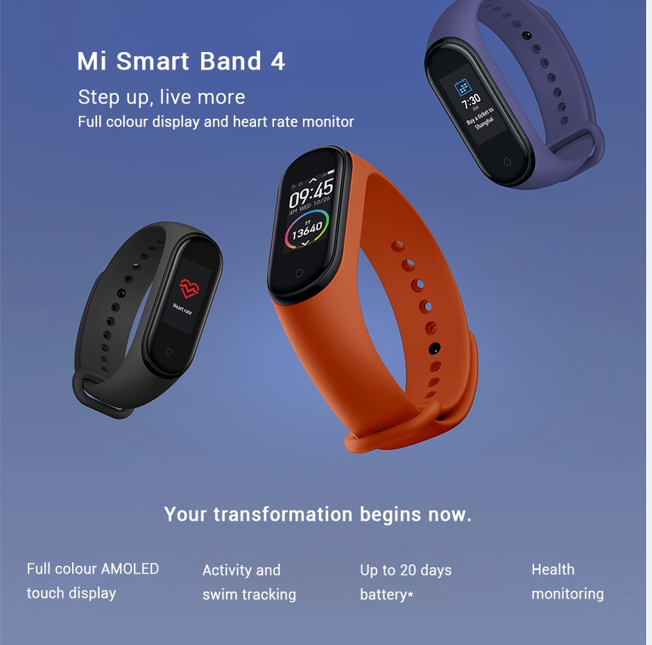 Xiaomi Mi Band 4 Fitness Tracker