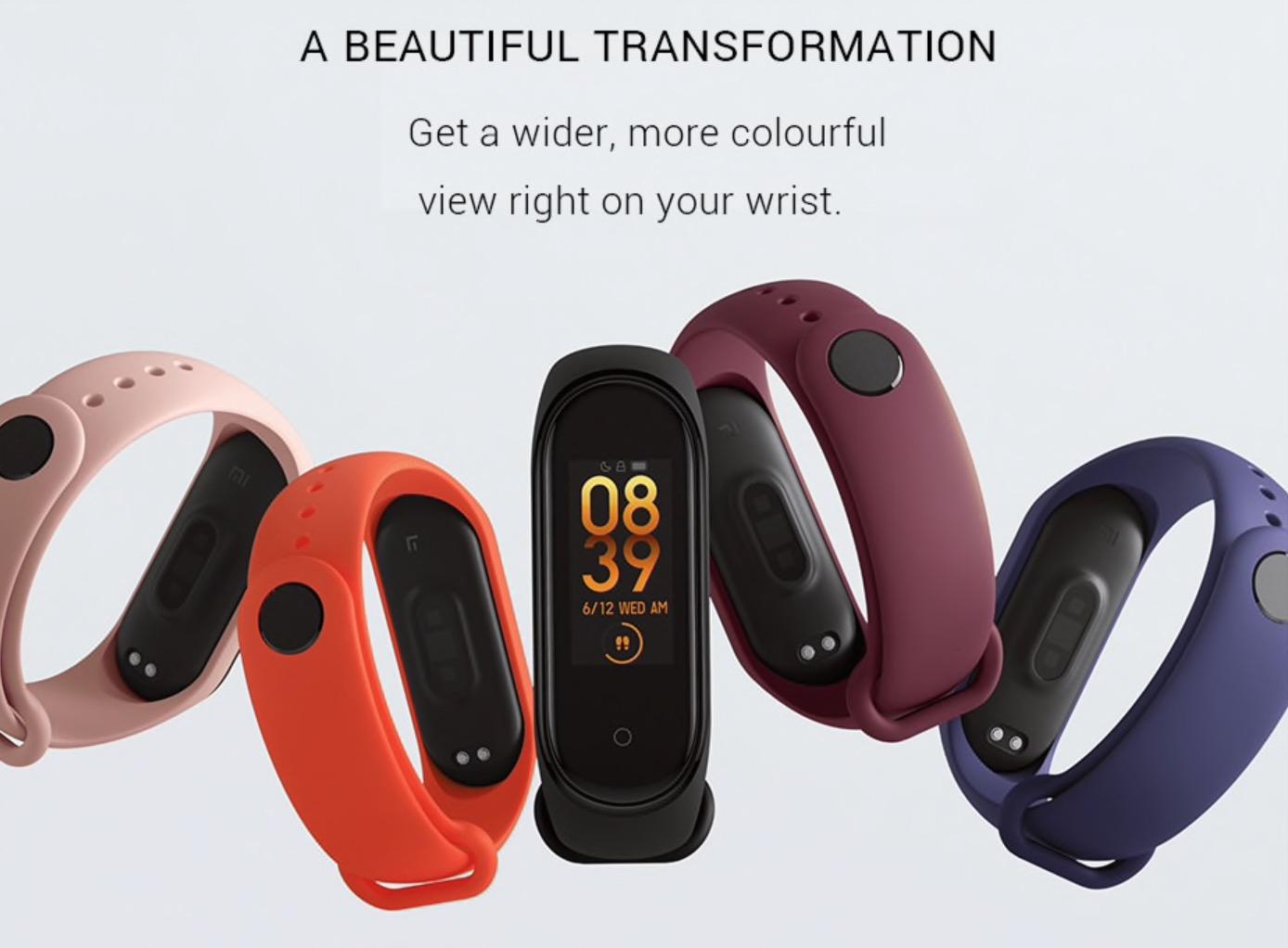 Xiaomi Mi Band 4 Fitness Tracker pakistan