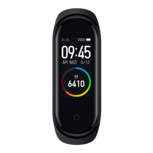 Xiaomi Mi Band 4 Fitness Tracker front angle