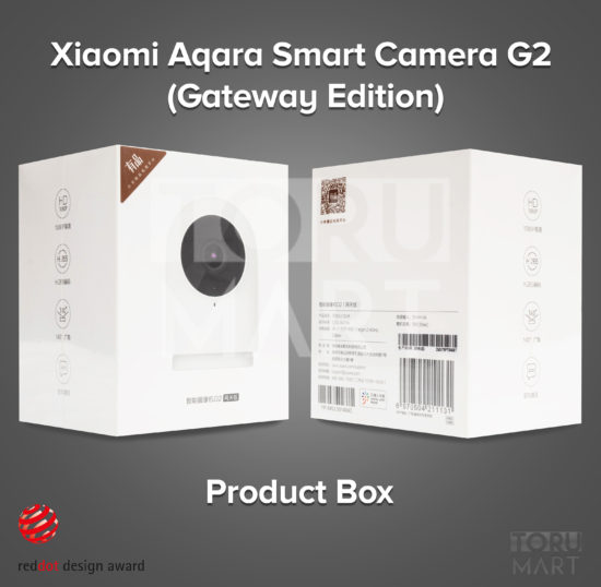 Xiaomi Aqara Smart Camera G2 (Gateway Edition)