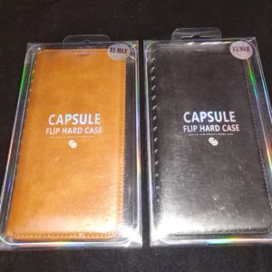 Capsule Flip Book Wallet Case for iPhone XS MAX