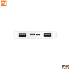 Dual ports of Redmi 10000mAh Power Bank