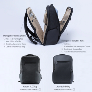 Xiaomi travel backpack 2 vs 1