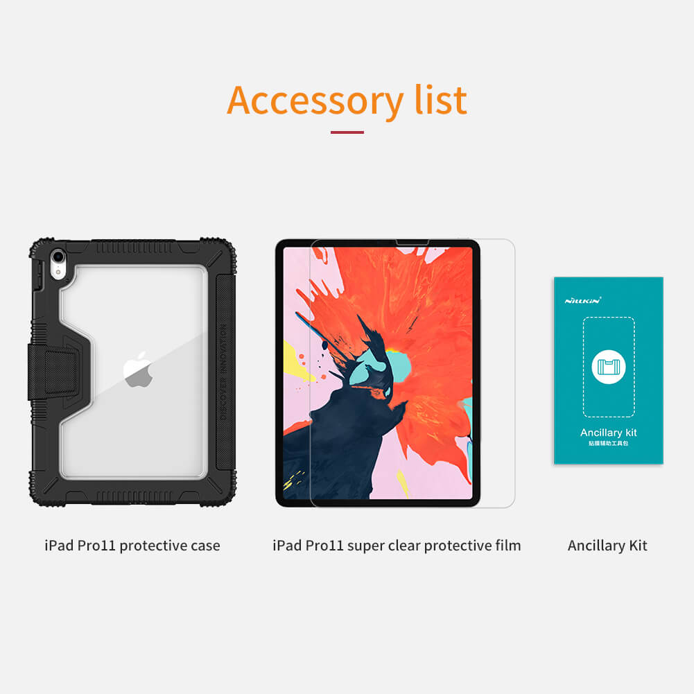 Accessory list bumper case ipad pro 11 inch