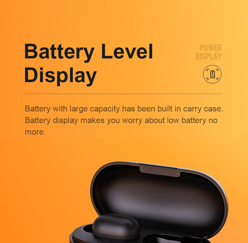 battery level display