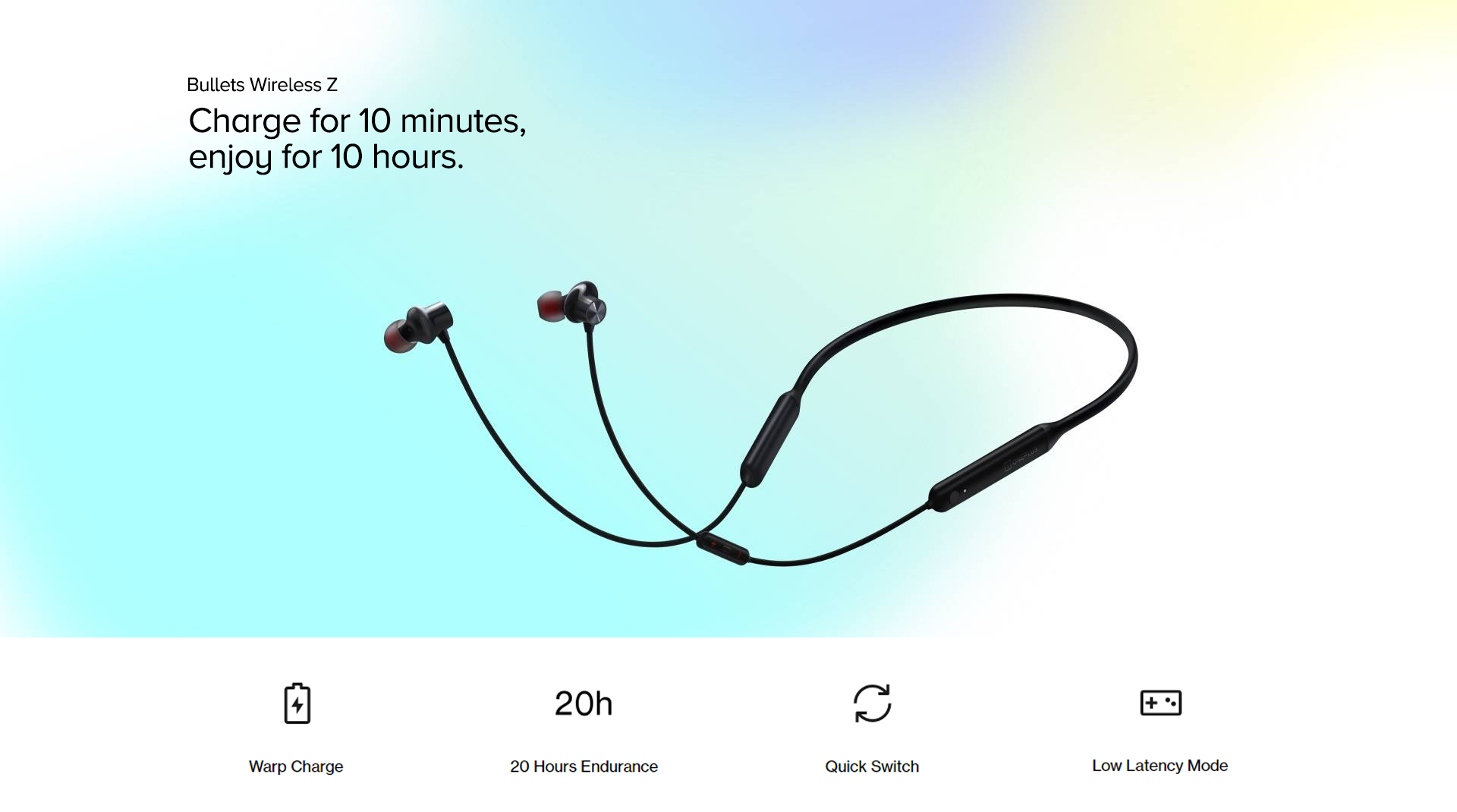 Charge for 10 minutes, enjoy for 10 hours.
