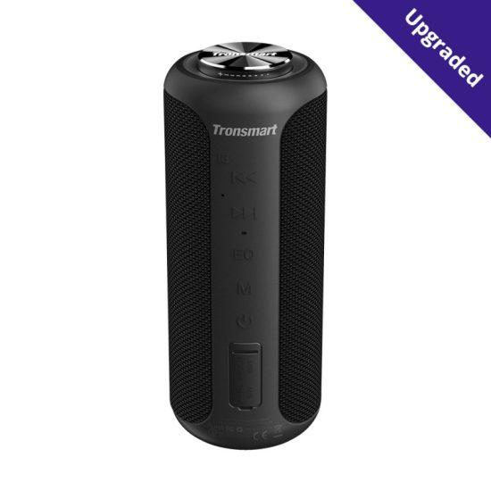 T6 Plus Upgraded Edition SoundPulse™ Bluetooth Speaker Black
