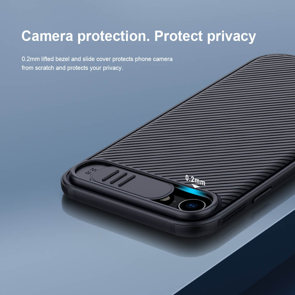 iphone 7 iphone 8 camera protection camshield case by nillkin