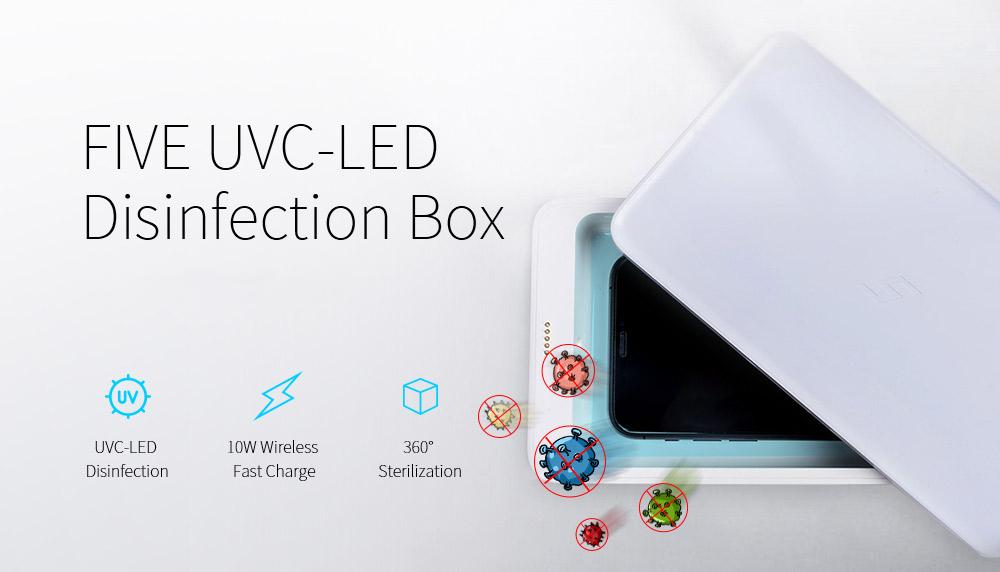 Five UVC-LED Disinfection Box