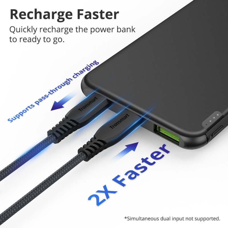 recharge faster