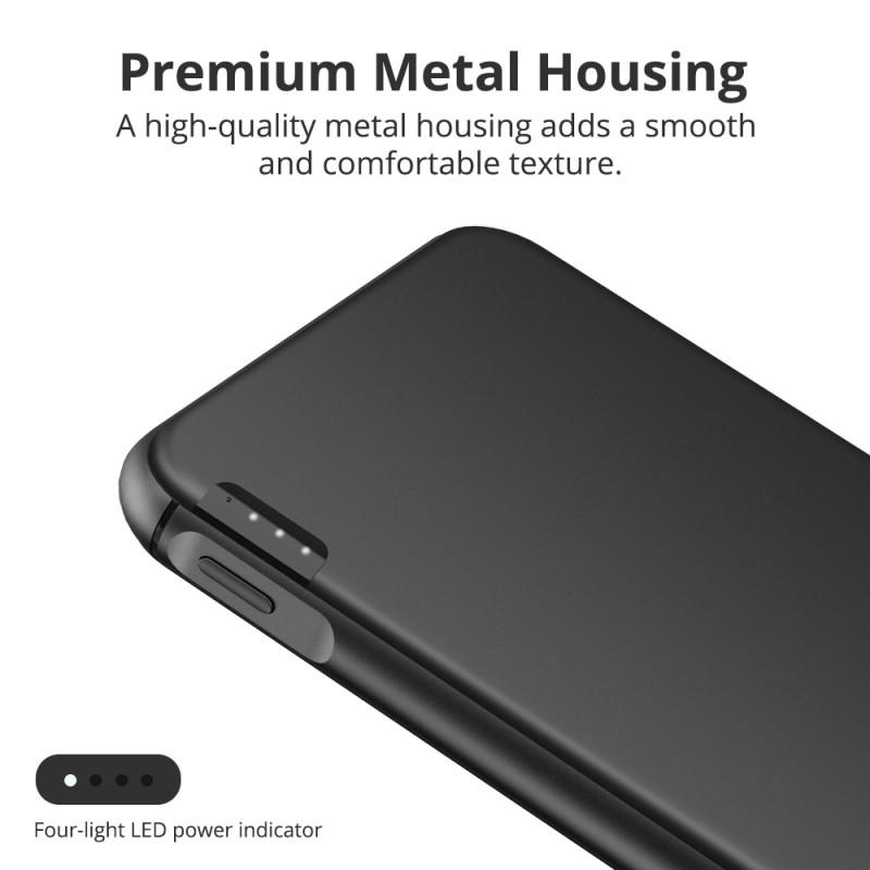 premium metal housing Tronsmart PBD02 10000mAh USB-C PD Power Bank