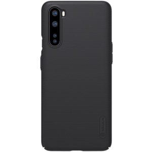 oneplus nord black frosted case nillkin