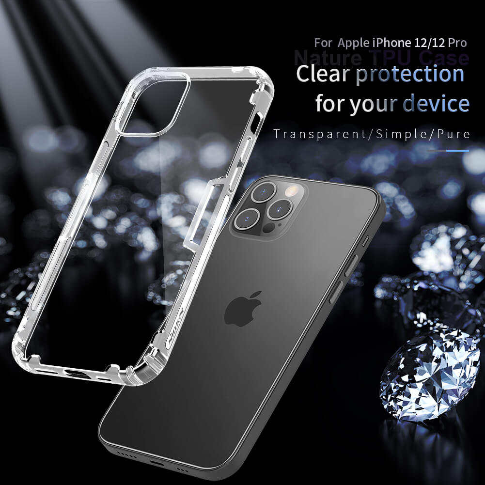 Nillkin Nature Series TPU case for Apple iPhone 12 / iPhone 12 Pro 6.1