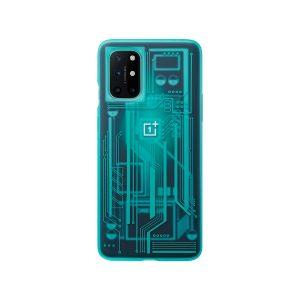 OnePlus 8T Quantum Bumper Case Cyborg Cyan