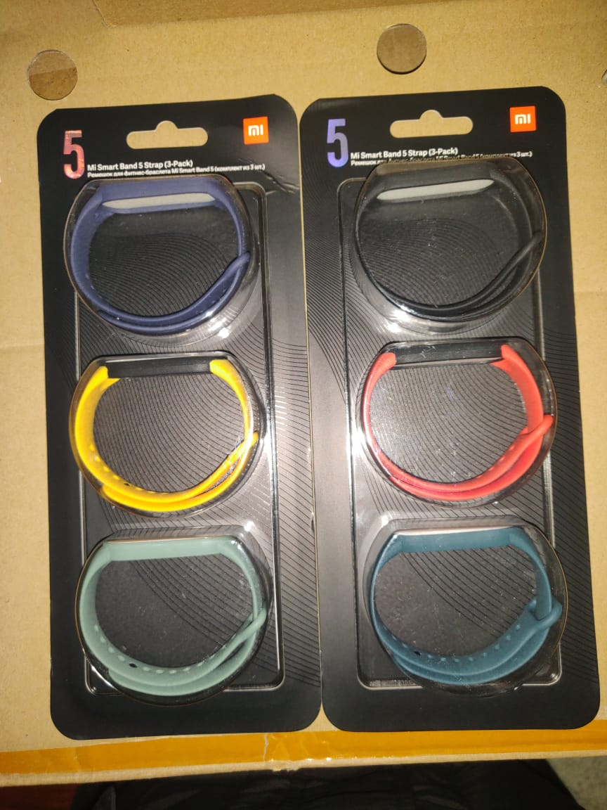 Mi Smart Band 5 Official Replacement Straps (3-Pack) Pakistan