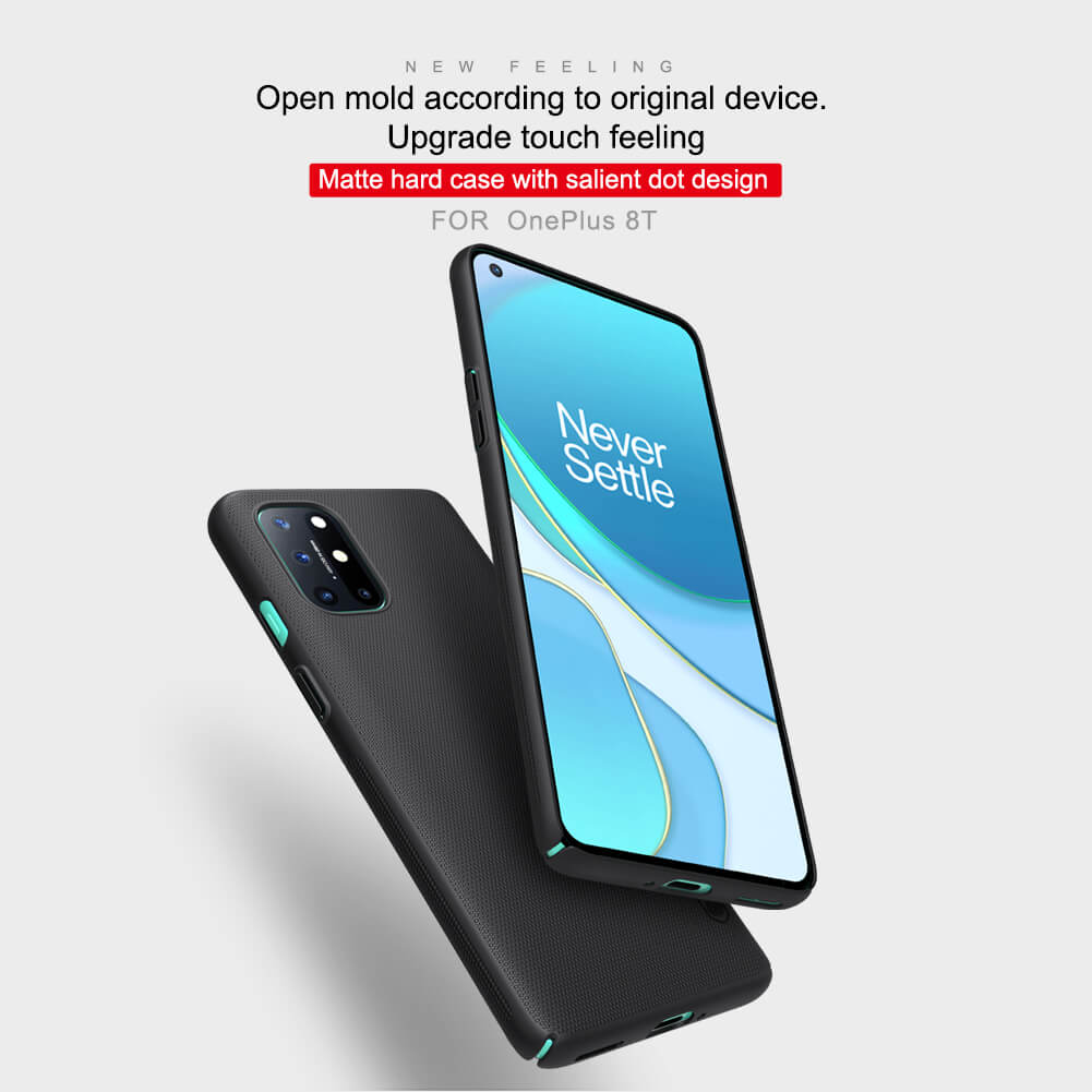 Frosted shield case oneplus 8t