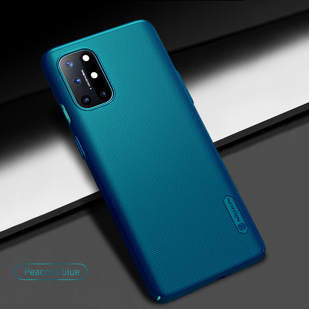 Nillkin Super Frosted Shield Oneplus 8T Peacock Blue
