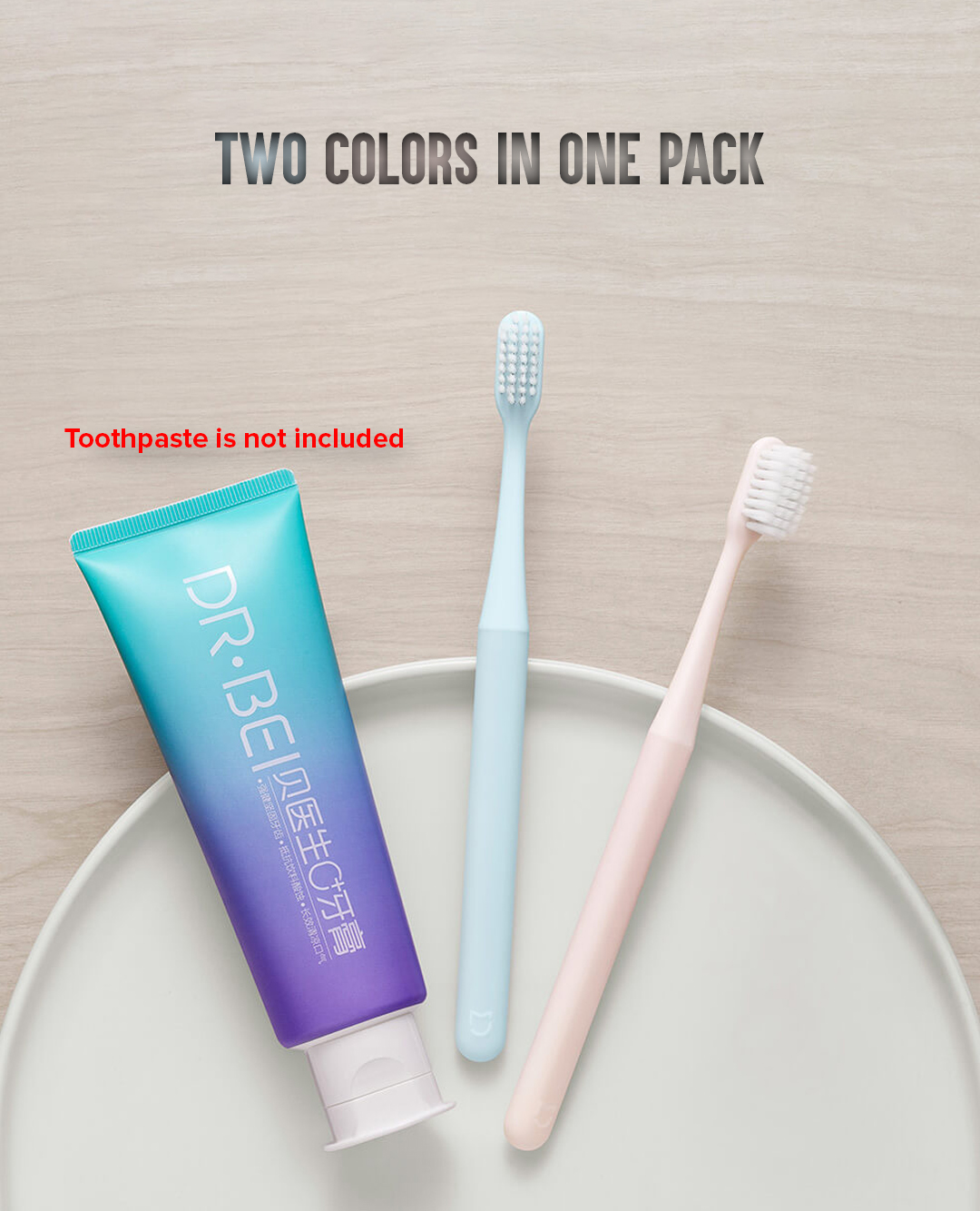 Mijia Toothbrush 2 colors pink and blue