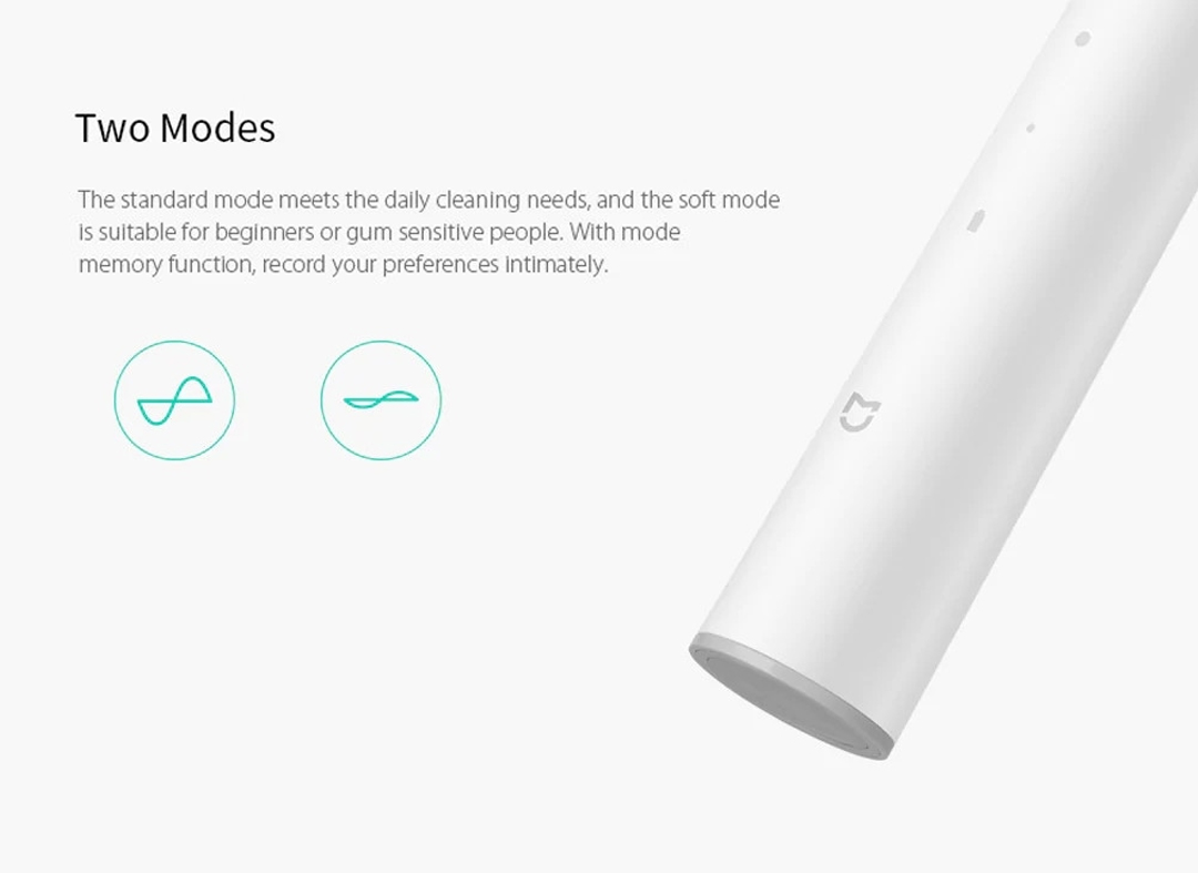 two modes Xiaomi Mijia Sonic Electric Toothbrush T300