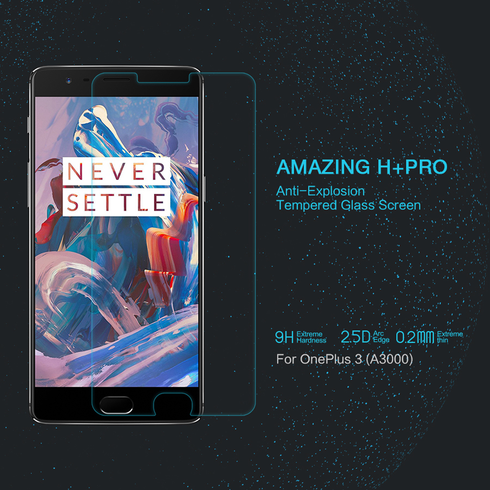 NILLKIN Amazing H+ Tempered Glass Protector Oneplus 3T
