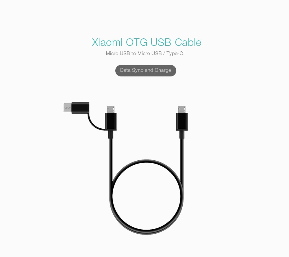 xiaomi otg usb cable  micro usb to micro usb  type