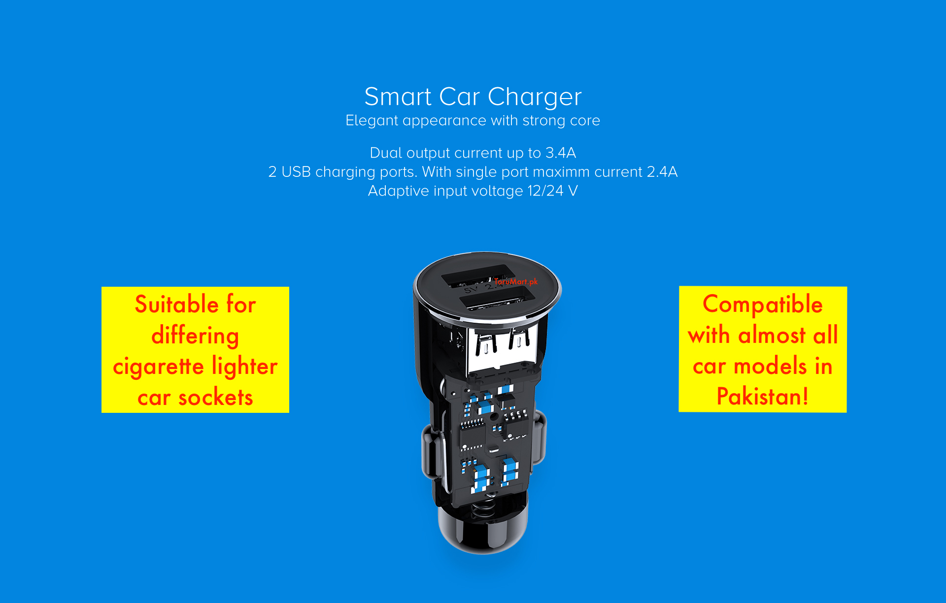 roidmi 3s car charger